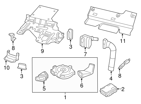 passenger seat components for 2014 nissan pathfinder