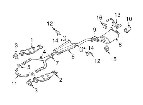 2005 G35 Exhaust    Diagram      Wiring    Diagram