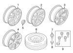 Wheel, Alloy - Volvo (31439200)