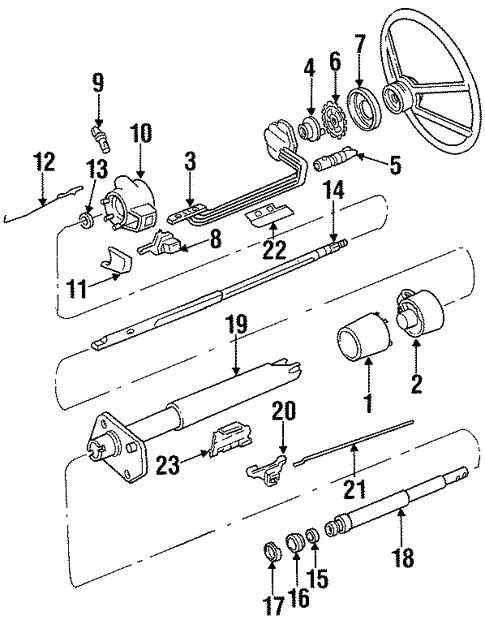 Switches For 1990 Chevrolet C1500 454 Ss