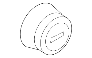 Center Cap - Ford (4C2Z-1130-CA)