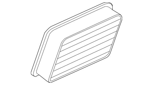 Air Filter Mitsubishi Mr571396 Auto Parts