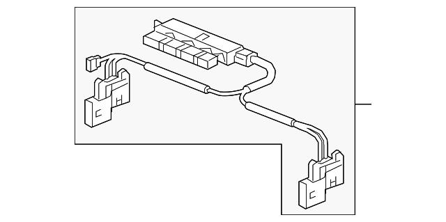 sub-wire harness  vhb