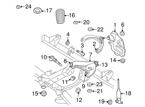 Suspension Components For 2010 Dodge Ram 3500