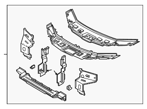 Radiator Support - Land-Rover (ABB490024)