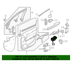Switch Assembly, Power Window Master - Acura (35750-TZ5-A01)