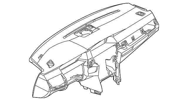 2004 2005 Bmw Instrument Panel 51 45 7 063 302