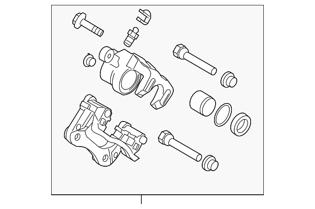 2003 kia spectra brake drum diagram