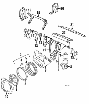 Retainer Assembly Spring