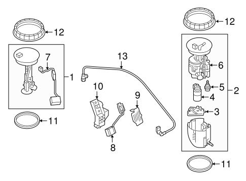 Fuel System Components for 2016 Mazda CX-3 #0
