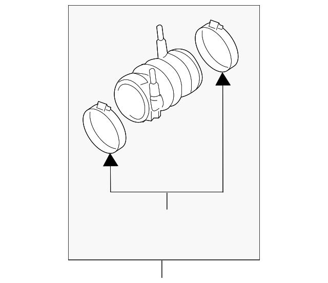 nissan air tube  14468