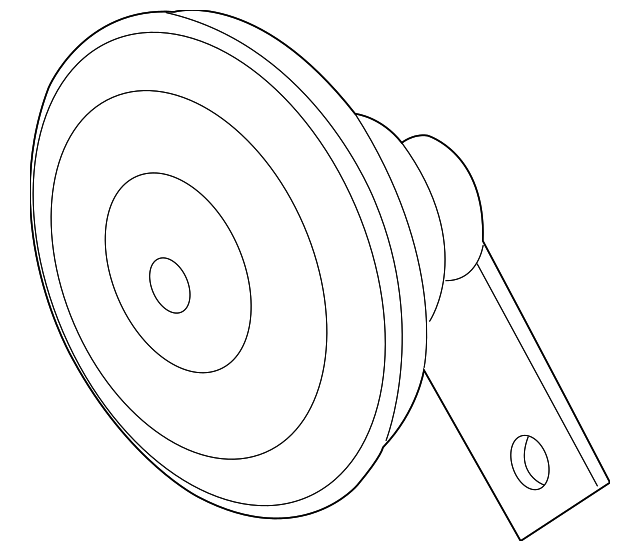 horn assembly low