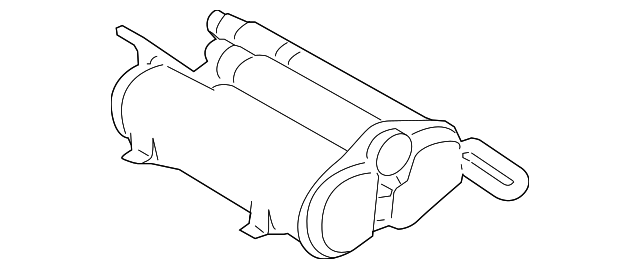 LAND ROVER CHARCOAL CANISTER OEM LR013720