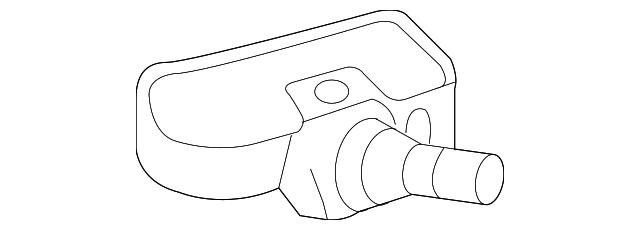 2008 2018 Mercedes Benz Tpms Sensor 000 905 72 00