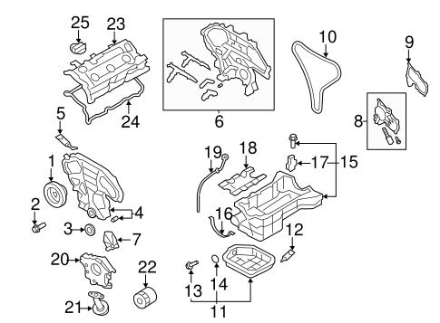 engine parts for 2012 nissan quest #0