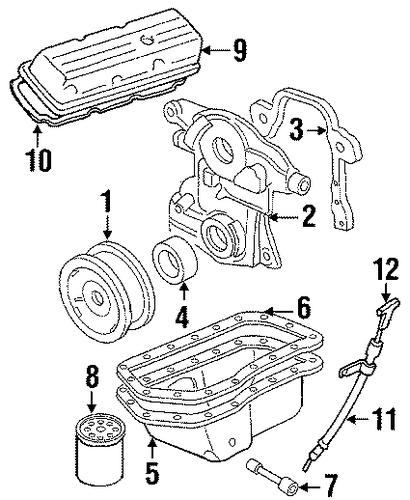 oem 1998 oldsmobile intrigue engine parts parts