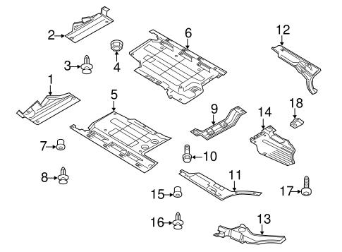 Under Cover & Splash Shields for 2015 Audi Q5   Audi USA Parts   2015 Audi Q5 Engine Diagram      Audi USA Parts