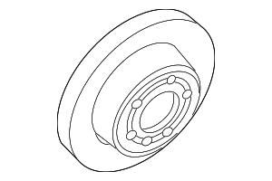 Brake Rotor - Land-Rover (SDB000470)
