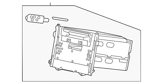 Unit Assembly Display Audio 1 Rmd Warranty Pioneer