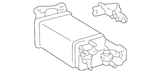 2001 2005 Lexus Vapor Canister 77740 30273