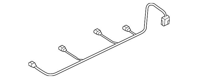 audi wire harness  8k0