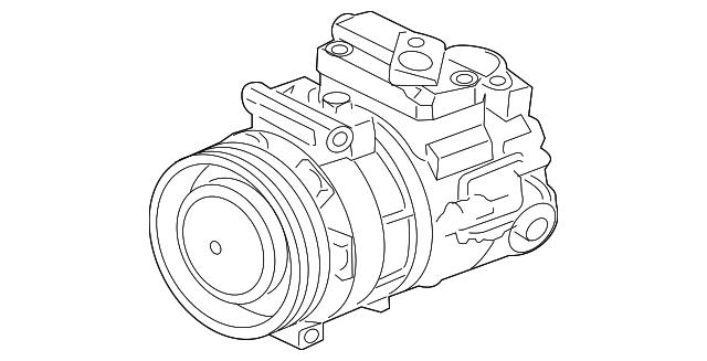 2013 2015 Jaguar Compressor C2z29597