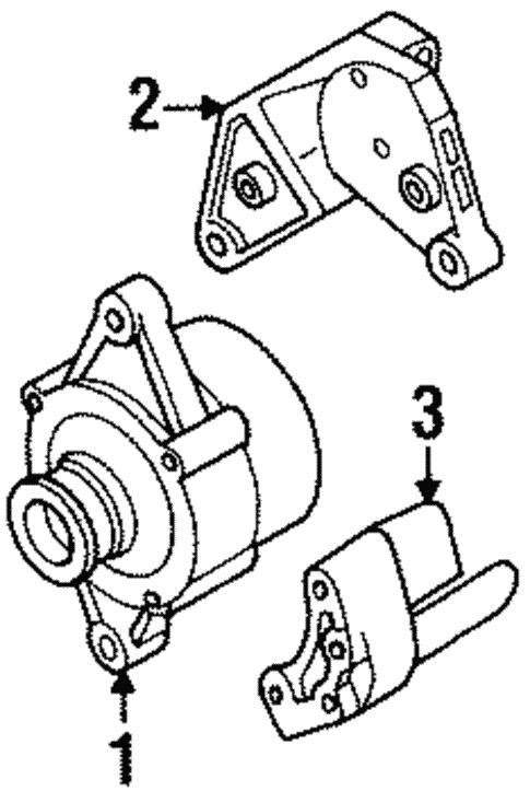 Alternator For 1999 Isuzu Rodeo
