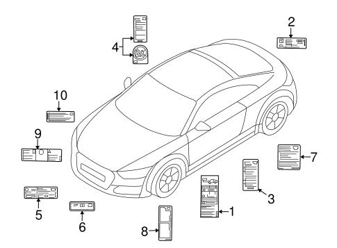 Labels For 2018 Audi Tt Quattro