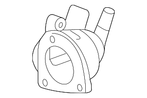 Case, Thermostat (Nippon Thermostat) - Honda (19320-R40-A01)