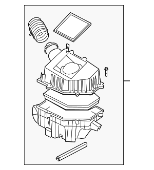Air Cleaner Assembly - Volvo (31338026)