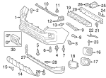 Lower Trim Panel - Toyota (53911-04210)