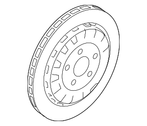 Disc Brake Rotor - Ford (KR3Z-2C026-B)