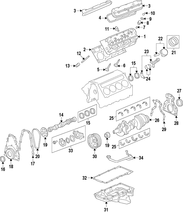 Camshaft Gear - GM (12606358)