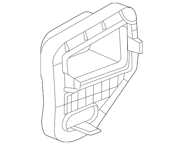 air cleaner assembly support