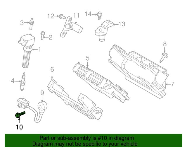 Knock Sensor Diagram