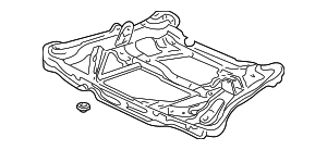 Beam, Rear Suspension Cross - Acura (50310-S87-A01)