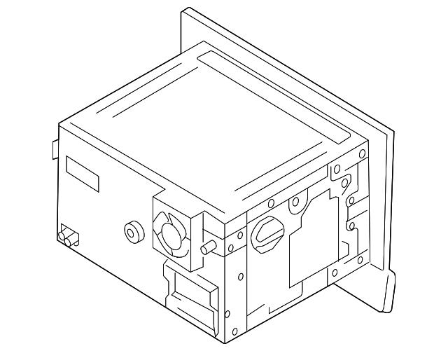 2014 2015 Audi R8 Display System 423 035 192 M
