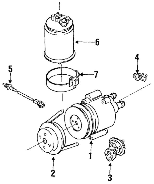 Marvelous Vacuum Control Valve Isuzu 8942135540 World Oem Parts Subaru Wiring Database Gramgelartorg