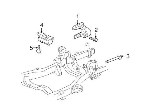 2009 hummer h3 engine diagram engine   trans mounting for 2009 hummer h3 gmpartonline  trans mounting for 2009 hummer h3