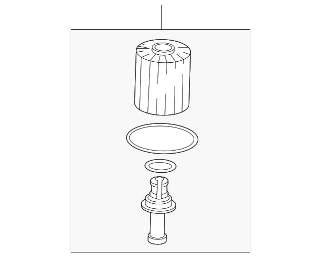 genuine toyota oil filter 04152