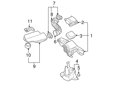 2001 Chevy Cavalier Engine Diagram Intake