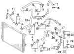 Engine Coolant Hose - Audi (059-121-055-K)