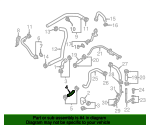 Engine Coolant Hose - Volkswagen (059-121-073-P)