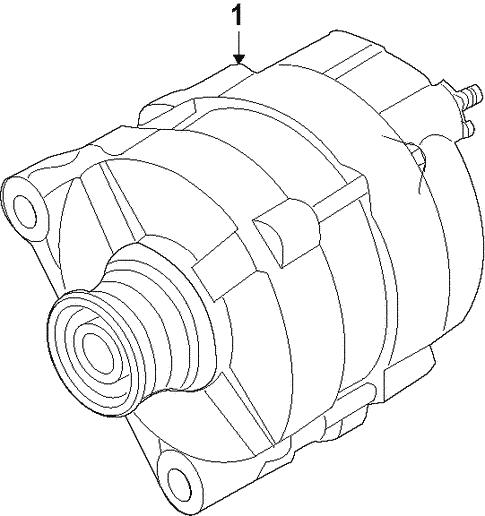 Alternator For 2013 Infiniti Jx35
