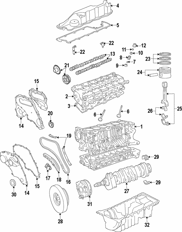Timing Chain - Land-Rover (LR002551-FP)