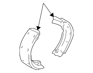 Brake Shoes - GM (18030045)