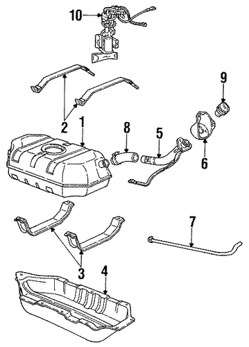 Fuel Pump Relay Switch Location additionally 3u3dm 1990 Gmc Sierra No Hazards No Brake Lights in addition Canister Purge Valve Solenoid Location 2006 Chevrolet moreover 94 Chevy 350 Engine Sensor Diagram together with Fuel System  ponents Scat. on 94 s10 fuel tank