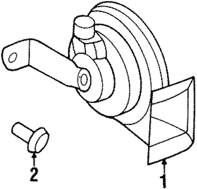 1996 1999 Saturn Horn 21024585