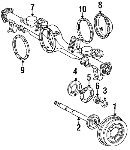 rear brakes for 1993 toyota land cruiser