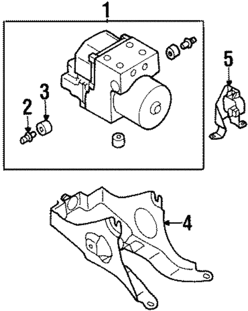 Anti Lock Brakes For 1999 Subaru Legacy